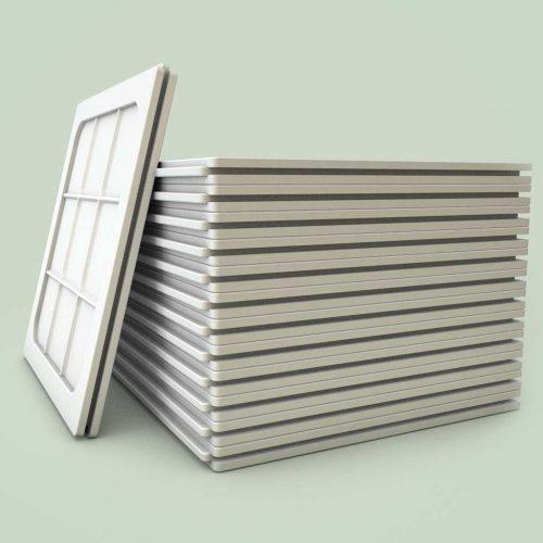 Placas de Gesso EcoGesso 60×60 – 6 Kg